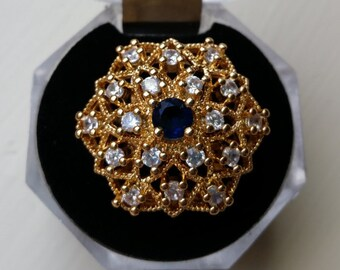 Unique Gold Plated Fashion Ring
