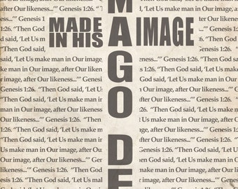 Imago Dei (Image of God) Print