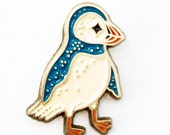 Puffin Pin Unique Pins Enamel Pin - Puffin Bird - Puffin Gifts - Unique Pins and Brooches - boygirlparty pingame pin game