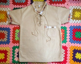 Vintage 1970's Maple Kids Unisex Tunic