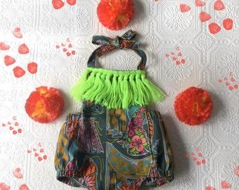 70's inspired baby sunsuit Supayana S/S 2016