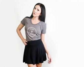 Black Mini Skirt • Women's Skater Skirts • Full Skirt • Loft 415 Clothing (No. 9)