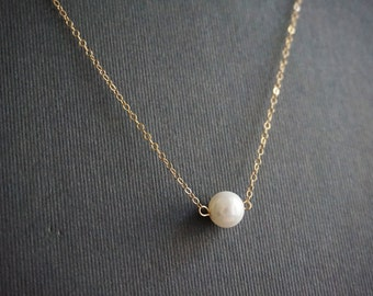 Pearl Jewelry,Pearl Necklace,14K Gold Filled Necklace,14K Gold Filled Jewelry,Bridesmaid Jewelry,Bridesmaid Gift,Mother Pearl Necklace,Gift