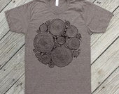 WOODPILE - Men's Tri-Blend T-Shirt