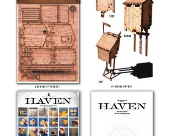 HAVEN Laser cut tower