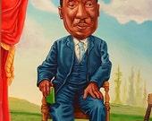 Muddy Waters - Original painting by Mr Hooper of Nashville Tennessee