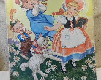 Mother Goose Story Book by Milo Winter
