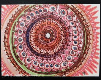 Mixed Media Mandala Art Drawing : Original and Inspirational