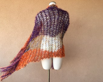 Stevie Nicks Shawl Wrap by Stevie Nicks Shawl Designer Crickets Meyeres. NEW Colors in Purple, Orange, Black, Gold Shawl