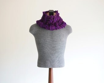 Gift for Him Gift Mens Scarf Mens Clothing Men Purple Scarf Mens Winter Clothing Mens Scarf