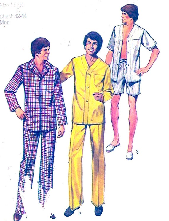Sewing Pattern for Men's T-Shirts and Pajama Pants, Kwik Sew Pattern K, Men's Sleepwear, Loungewear, Sleep Tops & Sleep Pants and Shorts BarbarasBoutiqueShop. 5 out of 5 stars because here they come. There are mens pajama pattern for sale on Etsy, and they cost $ on average. The most common mens pajama pattern material is.