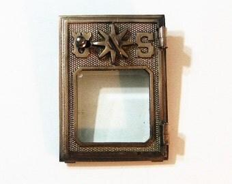 Post Office Box Door 1902 Combination Lock