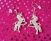 SALE! Hula Hooping Unicorn Earrings