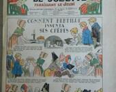 French girl magazine // 1935 // La Semaine de Suzette Magazine //