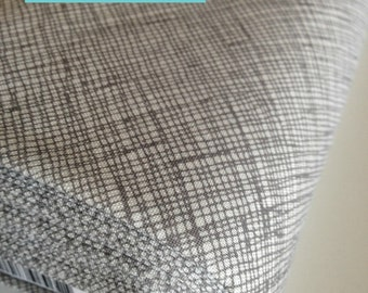 Best Seller, Gray fabric, Architextures Crosshatch fabric, Robert Kaufman, Crosshatch in Shadow- Choose your cut, Free Shipping Available