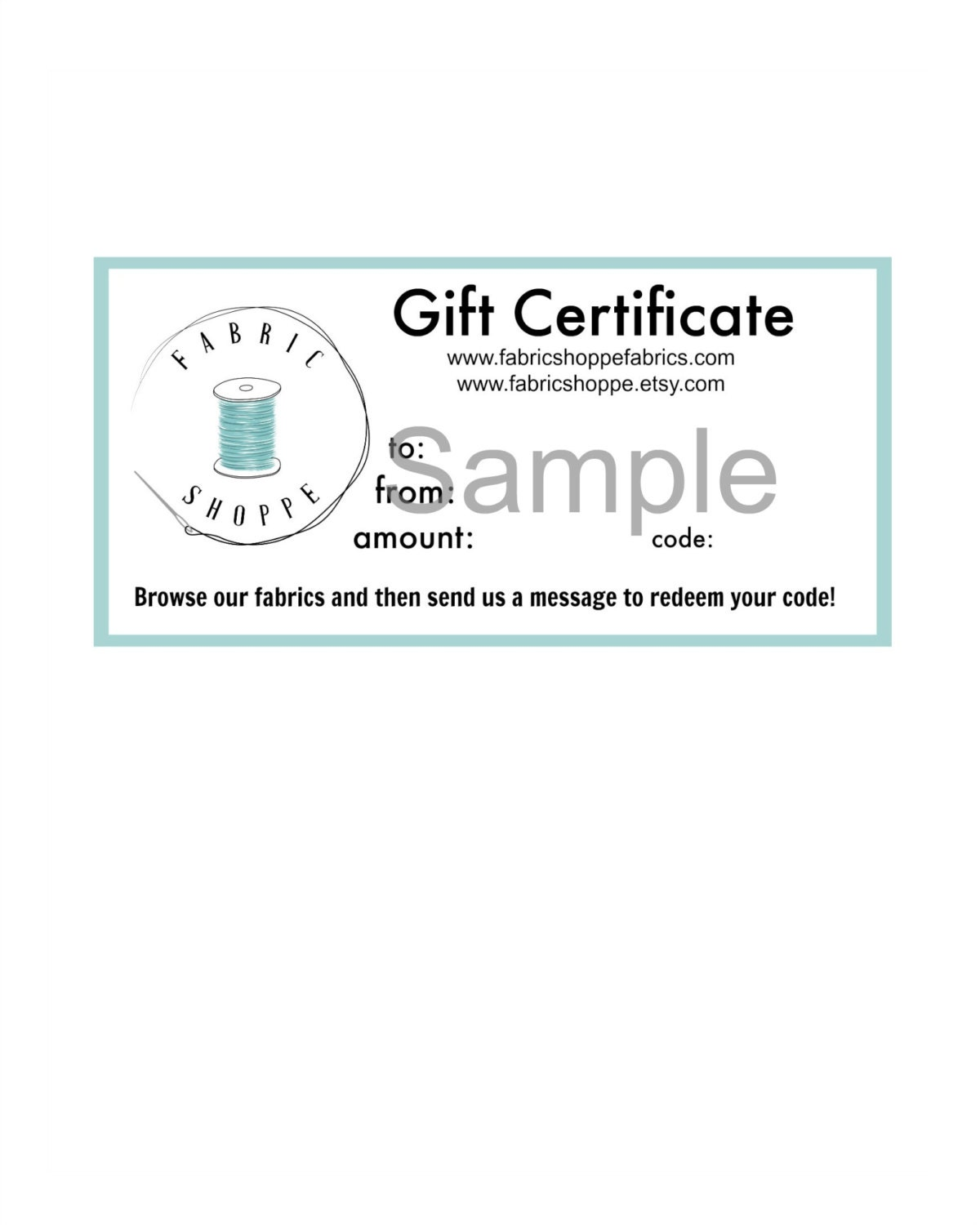 christmas gift gift for friend dollar gift certificate christmas gift gift for friend 50 dollar gift certificate printable gift card for the fabric shoppe instant and print