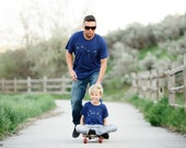 Father Son Matching Shirts, Big Dipper Little Dipper Tshirt Set, Fathers Day Gift, Father Daughter, Astronomy T Shirt, New Dad and Baby
