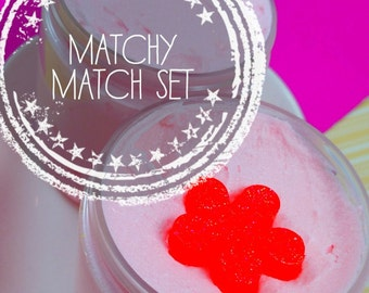 Bath and Body Gift Set. Gift for Mom. Gift for Her. Matchy Match Gift Set. HAWAIIAN GIRL Sugar Scrub Soap + Body Butter. Birthday Gift Her
