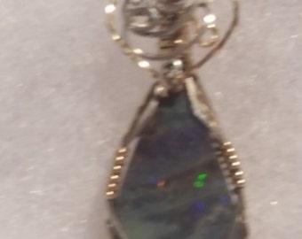 4250 Boulder Opal Pendant