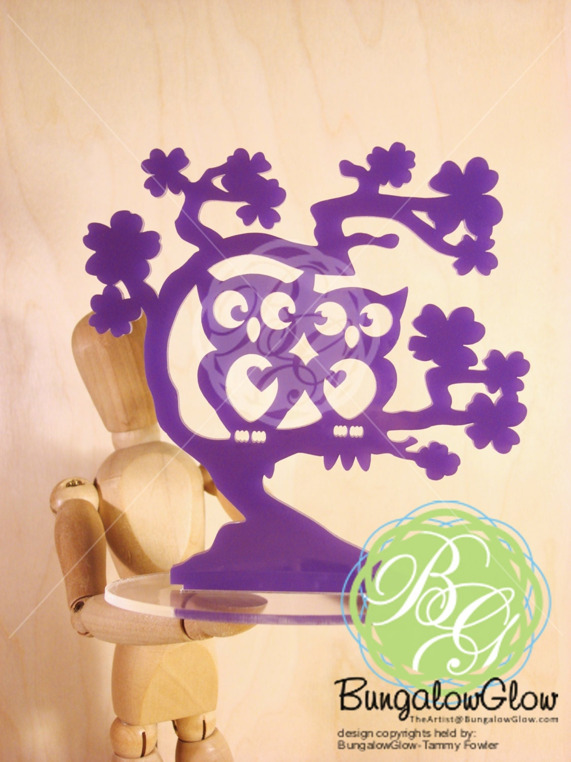 Owl Always Love You Cake Topper