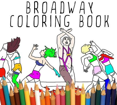coloring pages broadway musicals - photo#20