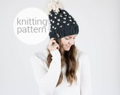 Pattern / Ozetta Knitting Pattern Fair Isle Knit Hat Pattern Instant Download For The Alpine Hat