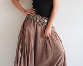 Sugar in my bowl ...... (1135) /Hippie pants / funky pants / wide pants Available in size M,L