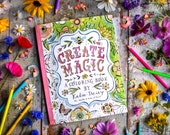 Coloring Book: Create Magic by Katie Daisy | SIGNED COPY!