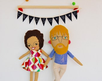 A Couple's Personalized Wall Hanging