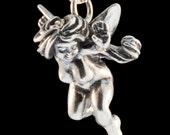 Fairy Necklace Fairy Goddess Charm Fairy Pendant - Fairy Jewelry - Silver Fairy - Fairies - Fairy Miniature