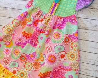 Under the Sea FLoral~Flutter Custom sz 6m up to sz 8