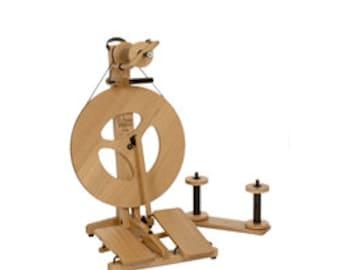 Spinning Wheel, Spinning Wheels, Louet Spinning Wheels, Double Treadle Spinning Wheel, Louet Victoria S96 Double Treadle Spinning Wheel