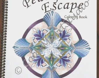 on sale adult coloring book spiral bound coloring book adult relaxation stress