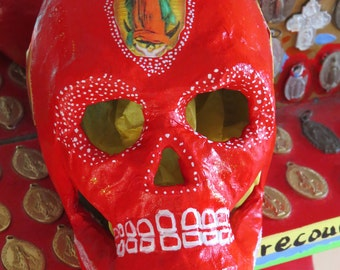 Day of the Dead GUADALUPE Calavera (skull) by MARIPOSAFUERTE