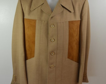 Vintage HORSE RIDING suit coat sport jacket by Jacques Dupre UNION made Canada polo fox hunt