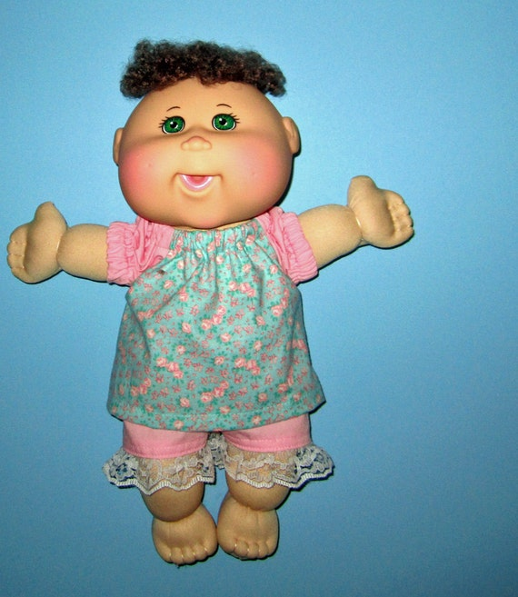 Cabbage Patch Naptime Babyland Doll Clothes Flower Print