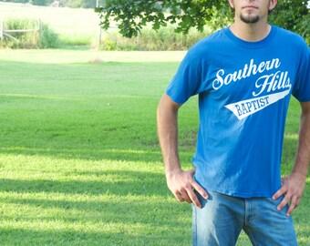 Vintage t-shirt / Southern Hills Baptist  / unisex vintage