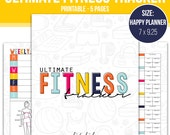 Ultimate Fitness Tracker , Happy Planner Fitness Tracker, Happy Planner Printable, Happy Planner Insert, Printable Planner Insert