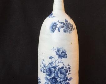 Stoneware bottle/bud vase