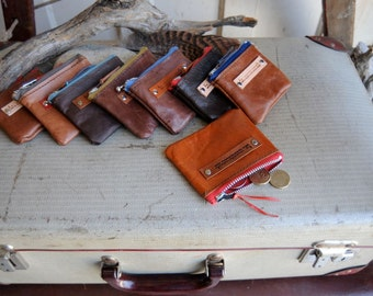 Kangaroo Leather Coin Purse