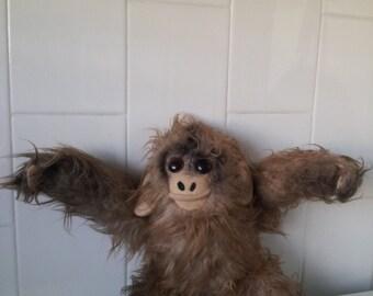 RARE Vintage KAMAR MONKEY Ape Stuffed Toy 1960s