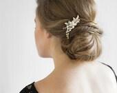 ARIES Pearl Bridal Hair Comb