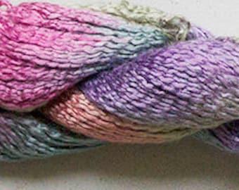 SALE - Rayon Spiral, Hand dyed yarn - Desert