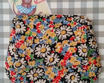 Vintage Fabric Bits & Bobs Purse
