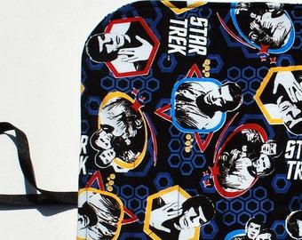 Star Trek Crochet Hook Organizer  DPN Storage Case Live Long and Prosper Pencil case  gift for knitter trekkie gift  Quiltsy Handmade
