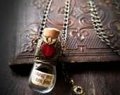 Amour vrai et non feint ~ Sacred Heart & Quartz Amulet Vessel