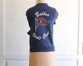 vintage 70s graphic sweatshirt Balboa Yacht Club made in usa