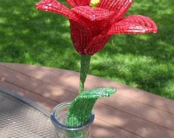 Tulip - Dee's French Beaded Flowers