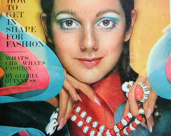1970 Harper's  BAZAAR Magazine