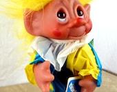 Vintage 70s Weird Norfin Thomas Dam 1977 Clown Troll